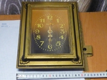 Настенные кварцевые часы янтарь на ходу, фото №8