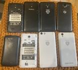 Лот 8 смартфонів Prestigio wize psp, фото №3