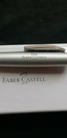 Ручка FABER-CASTELL шариковая серая., фото №6