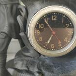 Хозяйка медной горы,Данила-мастер статуэтка ,каминные часы, чугун, фото №5