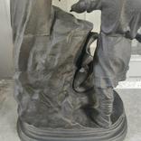 Хозяйка медной горы,Данила-мастер статуэтка ,каминные часы, чугун, фото №9