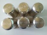 Набор серебряных стопок, фото №12