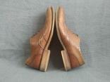 Туфли кожаные Clarks Португалия Инспектор 43 Кожа Ботинки, фото №4