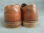Туфли кожаные Clarks Португалия Инспектор 43 Кожа Ботинки, фото №6