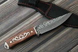 Охотничий нож Дамаск 21.5 cm, фото №3