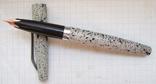 Перьевая ручка АР-806 с золотым пером. Пишет очень мягко, тонко и насыщенно, фото №2