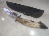 Нож Козья Ножка подкова чехол, фото №11