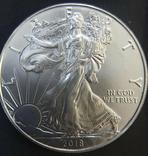Доллар США 2018 Американский орёл Шагающая свобода, фото №2