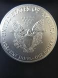 Доллар США 2018 Американский орёл Шагающая свобода, фото №4