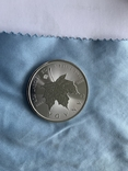Канада 5 долларов 2020 унция серебро 999, фото №4