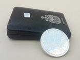 1 доллар, Канада, 1978 г., XI игры содружества в Эдмонтоне, серебро, в родном футляре, фото №4