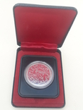 1 доллар, Канада, 1978 г., XI игры содружества в Эдмонтоне, серебро, в родном футляре, фото №7