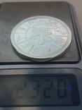 1 доллар, Канада, 1978 г., XI игры содружества в Эдмонтоне, серебро, в родном футляре, фото №8