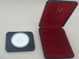 1 доллар, Канада, 1976 г, 100 лет парламентской библиотеке, серебро, в родном футляре, фото №4