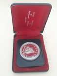 1 доллар, Канада, 1976 г, 100 лет парламентской библиотеке, серебро, в родном футляре, фото №7