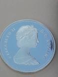 1 доллар, Канада, 1983 г., XII Универсиада в Эдмонтоне, серебро, в родном футляре, фото №5