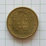 Швеция 10 крон 1993 год, фото №2