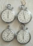 Четыре секундомера из СССР., фото №3
