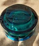 Ваза кашпо толстое шлифованное стекло, фото №11