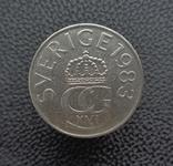 Швеция 5 крон 1983, фото №3