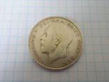 Пол кроны 1921г. Великобритания, фото №4