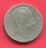Италия 2 лиры 1883 Umberto I