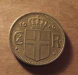 Исландия 1940 год монета 1 крона, фото №3