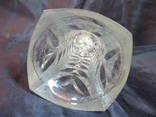 Небольшая вазочка,высота 17,5 см, фото №8