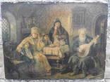 Старинная литография.80x62см. photo 2