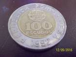 100 ескудо 1992 року. Португалія, фото №2