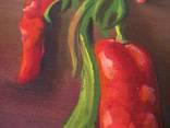 ''Натюрморт с баклажанами''. Холст на картоне, масло. 50х60 см. Хоменко К. photo 10