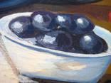 ''Натюрморт с баклажанами''. Холст на картоне, масло. 50х60 см. Хоменко К. photo 12