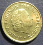 10 центів Нідерланди 1977, фото №3