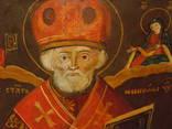 Икона Николай  розмір 22х26х1,5 см, фото №5