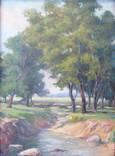 """Картина """"Лесной ручей"""", фото №2"""