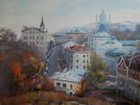 "Картина ""Осень на Андреевском спуске"", холст, масло. Микитенко Виктор, фото №2"