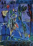 """Картина із серії Мандри """"Нічні метелики"""" аркуш 1"""