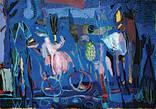 """Картина із серії Мандри """"Нічні метелики"""" аркуш 2"""