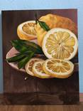 Натюрморт с лимонами, 40*50 см photo 4