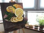 Натюрморт с лимонами, 40*50 см photo 5