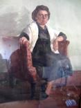 Портрет, художник Бабкова Александра Андреевна, акварель photo 4