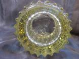 Вазочка стекло, 15 см, фото №9