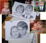Портрет карандашом по фотографии. photo 4