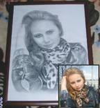 Портрет карандашом по фотографии. photo 7