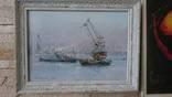 Индустрия моря, 25Х35, масло, рама, проф
