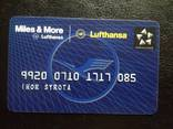 "Банковская карта ""Miles & More"" (Lufthansa) 085, фото №2"