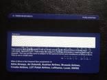 "Банковская карта ""Miles & More"" (Lufthansa) 085, фото №3"