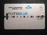 "Карта Авиакомпонии ""KLM"" (Air France), фото №3"