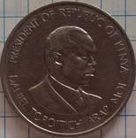 1 шиллинг 1989 года. Кения, фото №3