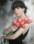 Портрет, живопись на заказ. Работа на холсте, маслом от Яны Голубятниковой. photo 4